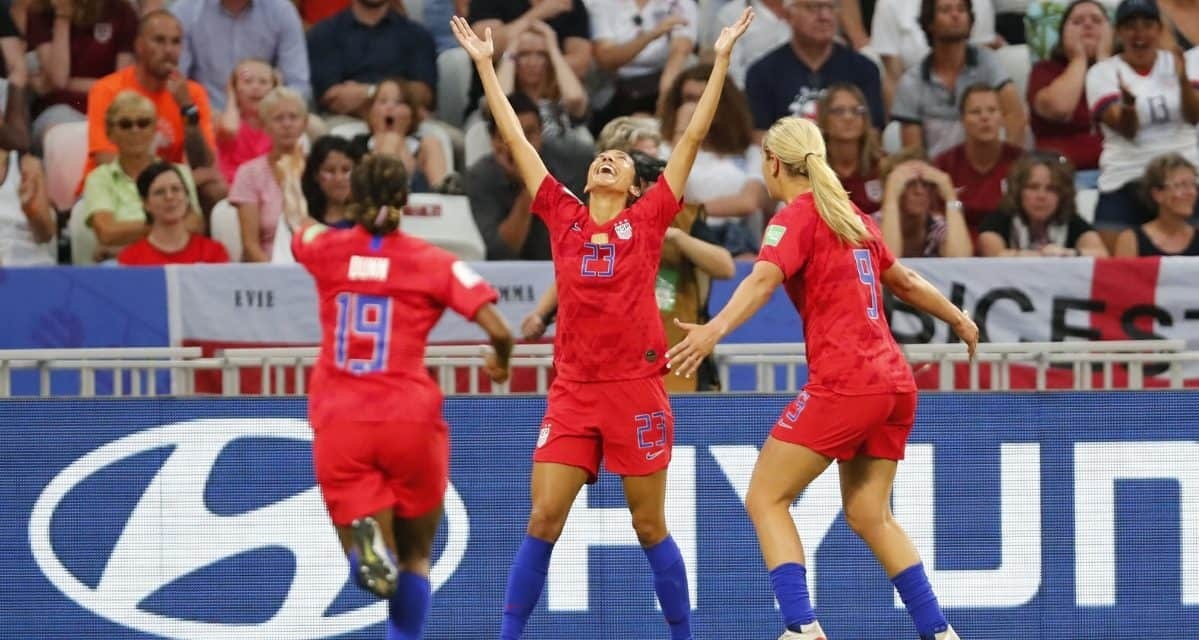 THEY'RE SEMIFINAL TOUGH: USA women edge England to reach WWC final