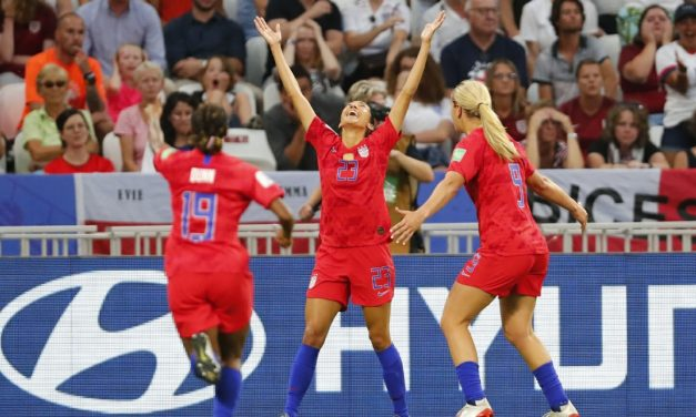 THEY'RE SEMIFINAL TOUGH: USA women edge England to reach WWC final