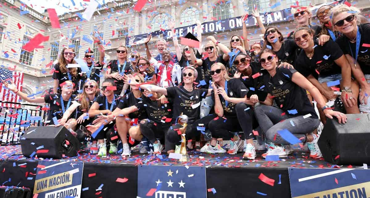 VICTORY TOUR: USWNT to play in Philly, Minny in September