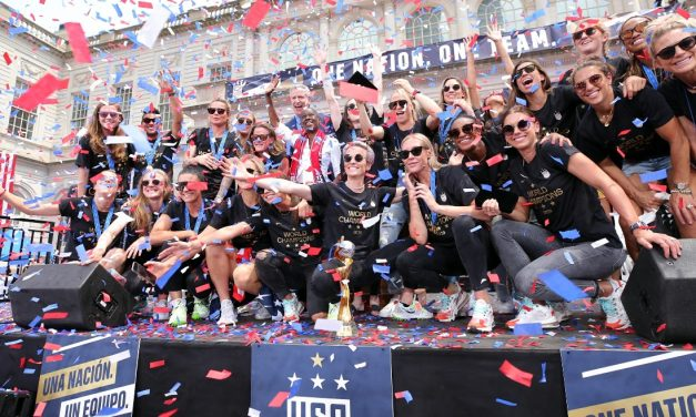 STILL NO. 1 AND MORE: World champion U.S. extend lead to record 121 points in latest FIFA women's rankings