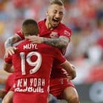 CORNER KICK OR THROW-IN?: Royer's 2nd goal lifts Red Bulls over NYCFC on controversial call in Hudson River Derby