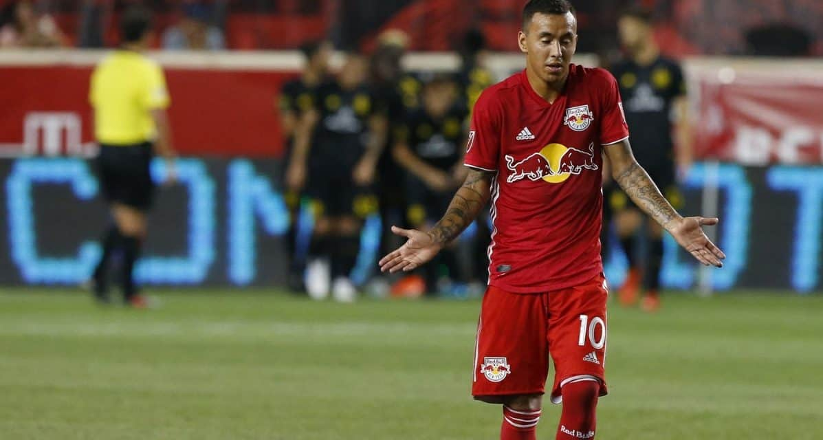 DEFENSIVE WOES: Red Bulls fall at home to lowly Columbus