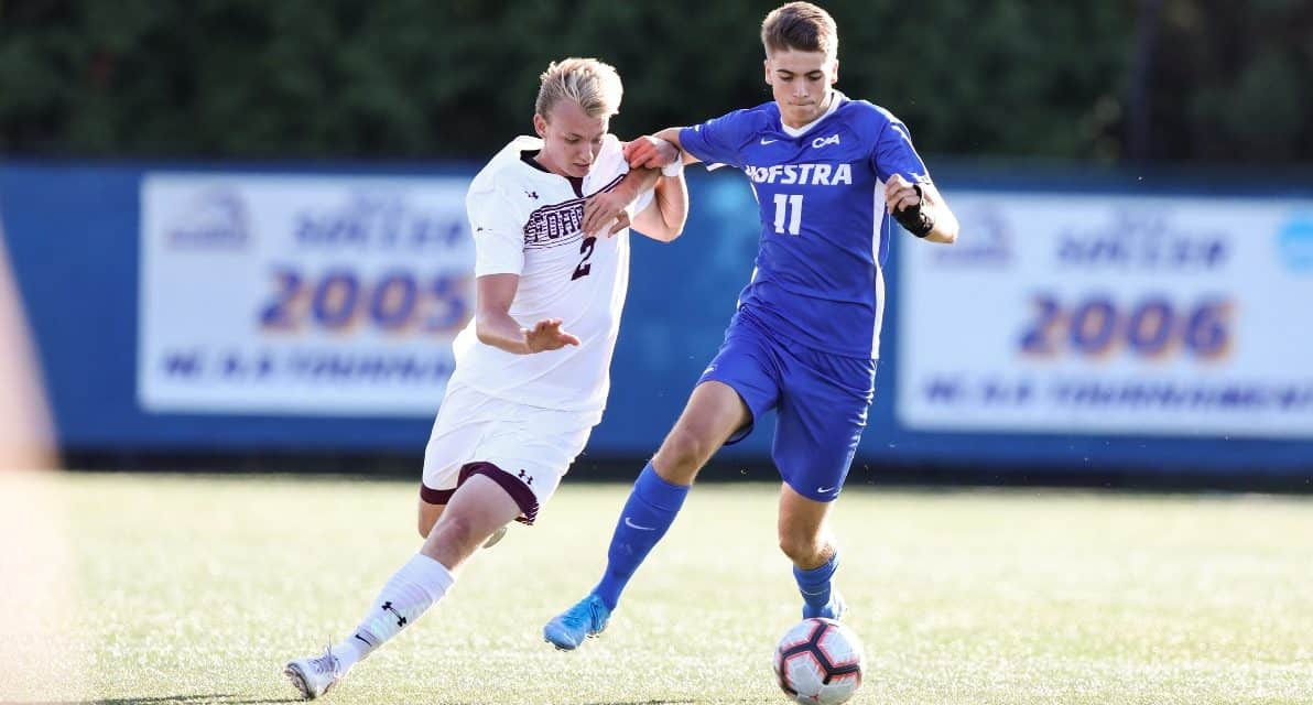 ONE IS ENOUGH: Hofstra men edge Fordham on PK, spoiling Acquista's debut as Rams coach