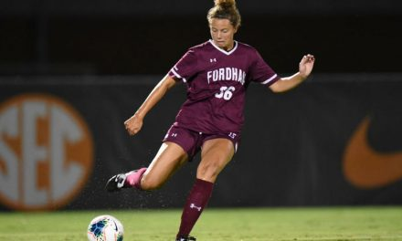 LONG SEASON OPENER: Fordham women fall at Tennessee after 2-hour thunderstorm delay