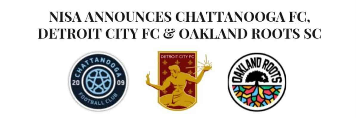 JUMPING LEAGUES: Chattanooga FC, Detroit FC move to NISA for 2020