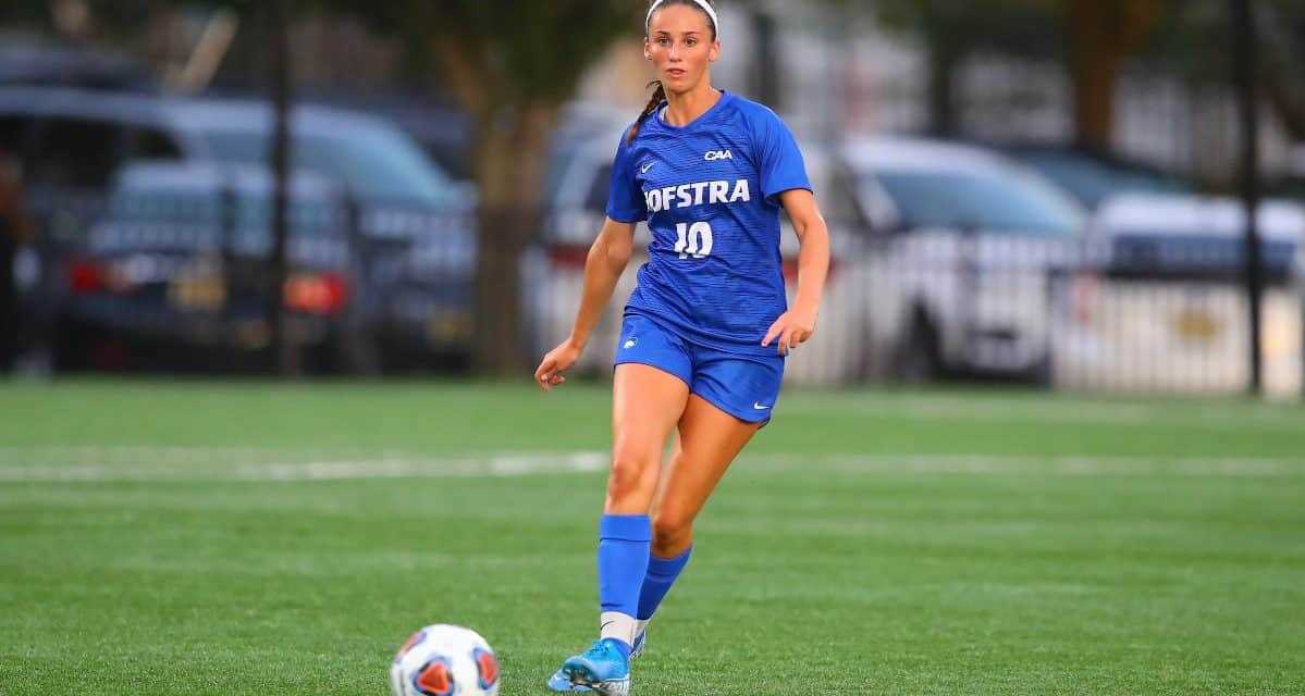 TAKING THE OFFENSIVE: CAA honors Hofstra's Porter