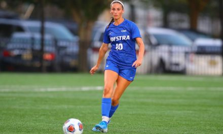 GETTING OFF ON THE RIGHT FOOT: Hofstra women blank Monmouth in opener, 1-0