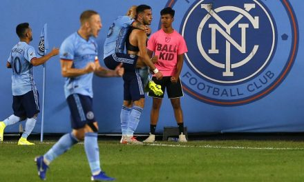 IT WAS VALENTIN'S DAY: Sub Castellanos comes off bench to lift NYCFC to comeback victory
