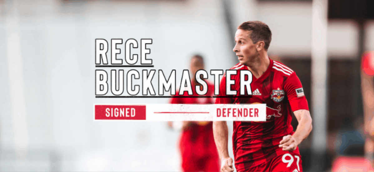 PROMOTED: NYRBII defender Buckmaster signs with Red Bulls