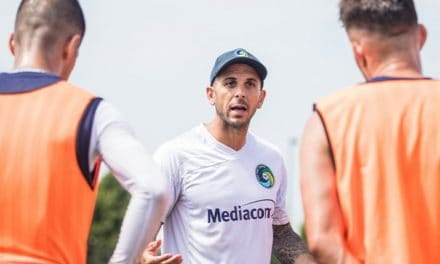 SAME GOAL, DIFFERENT ROLE: After captaining Cosmos to 3 titles, Mendes tries to win one as a coach