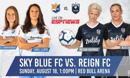 SOME NORTHERN EXPOSURE: Sky Blue moves Aug. 18 game to Red Bull Arena