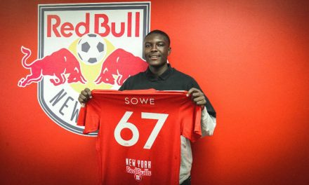 AN HONEST FOR GOODNESS HOMEGROWN PLAYER: Harrison's own Sowe signs with Red Bulls II