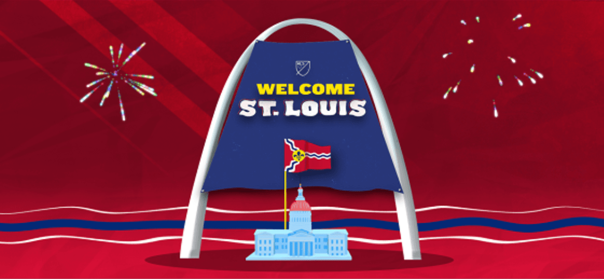 ANOTHER TEAM: St. Louis becomes 28th MLS franchise