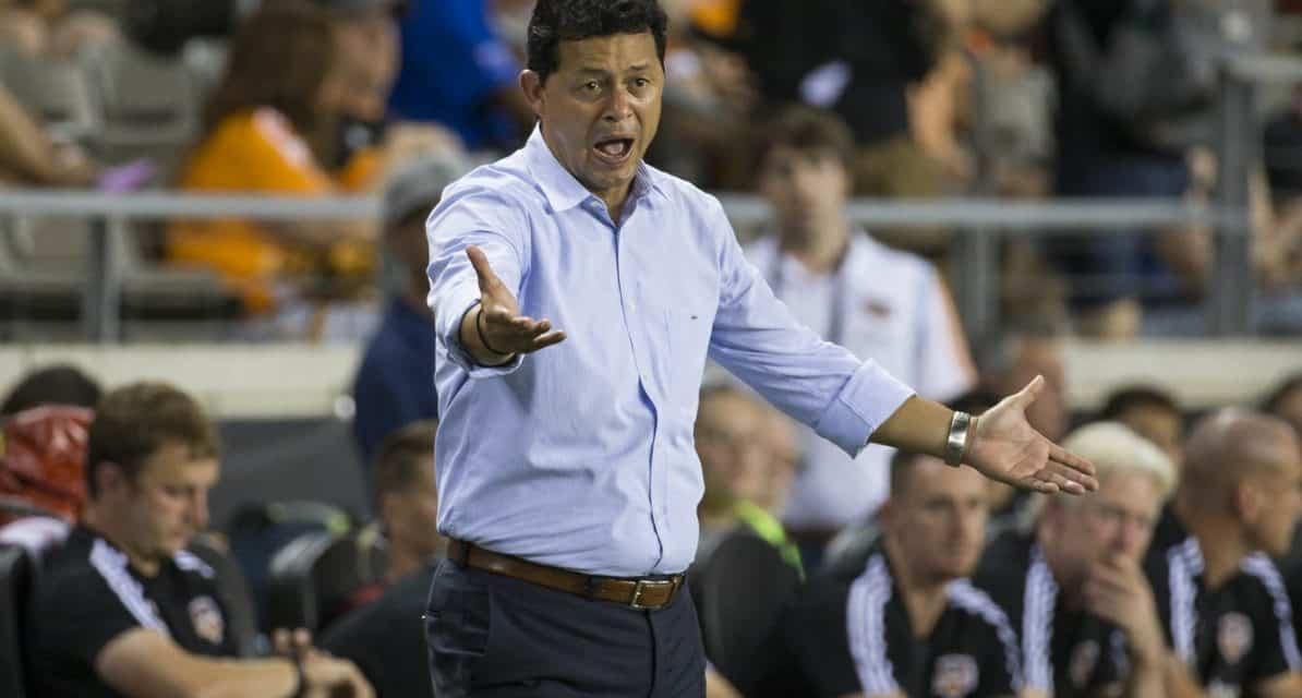 GETTING THE BOOT: Dynamo fires Cabrera as coach, Arnaud named interim boss