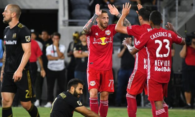 ANOTHER DEFENSIVE MELTDOWN: LAFC spanks Red Bulls, 4-2
