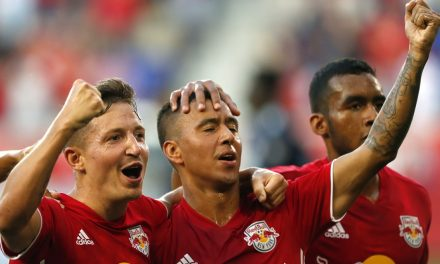 FIT TO BE TIED: Red Bulls can't hold the lead, draw at home with Revs