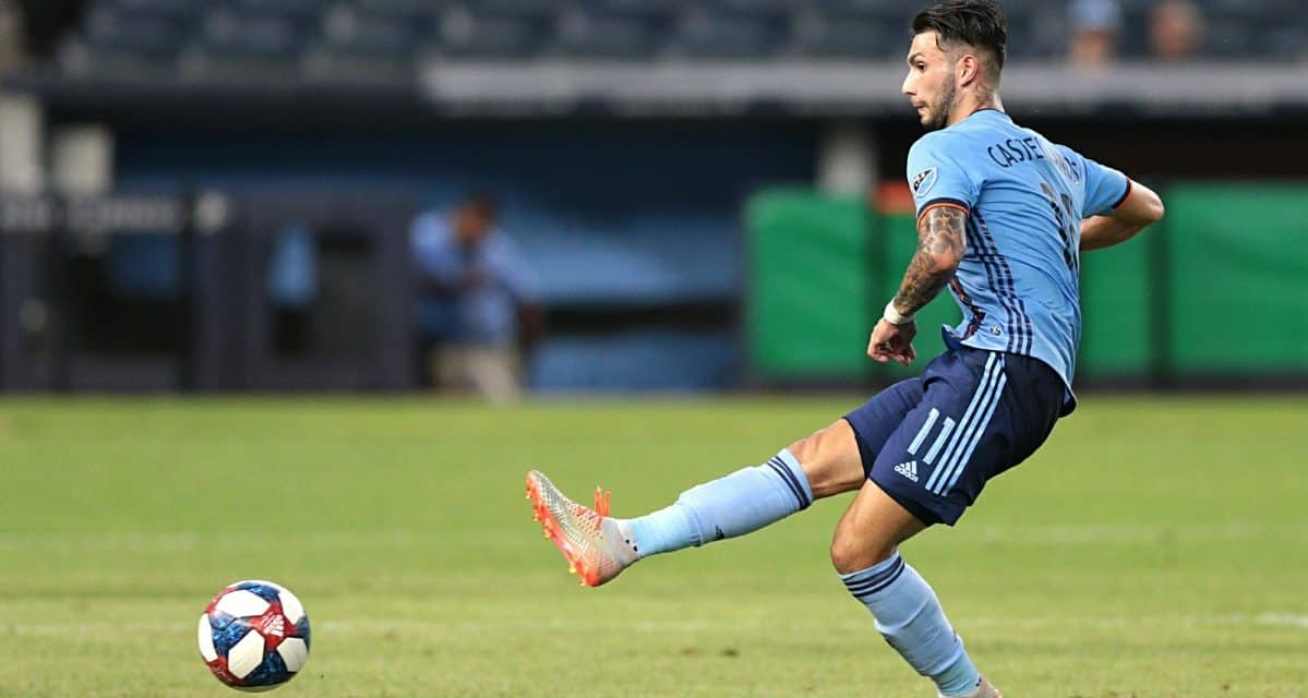 ONE IS ENOUGH: NYCFC nips Columbus, moves within a point of first on Castellanos goal