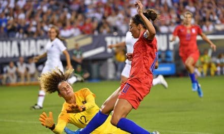FOUR SCORE: Heath, Brian, Lloyd, Long strike for U.S. women in 4-0 win