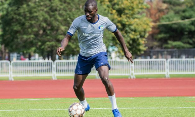ABSENCE MADE HIS HEART GROW FONDER: After returning from injury, Cosmos' Ledula savors the game even more