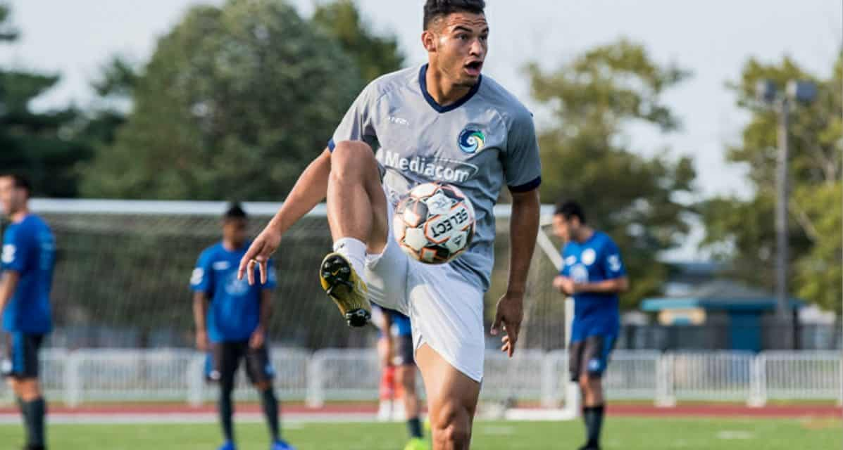 FINDING HIS STRIDE: Espinal snaps personal scoreless streak in Cosmos win