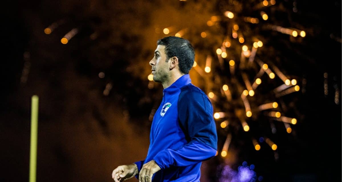 FIREWORKS ON AND OFF THE PITCH: Cosmos survive Hofstra celebration, thrive on Dennis' goals