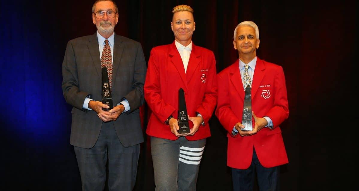 FINDING SOME FAME: Wambach, Gulati enshired in U.S. Soccer Hall, Quinn gets Colin Jose Award
