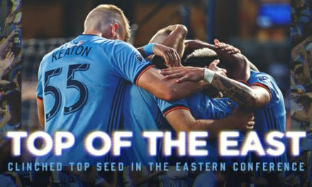 WHEN A LOSS FEELS LIKE WIN: NYCFC falls, but clinches 1st in Eastern Conference as Columbus surprises Philly