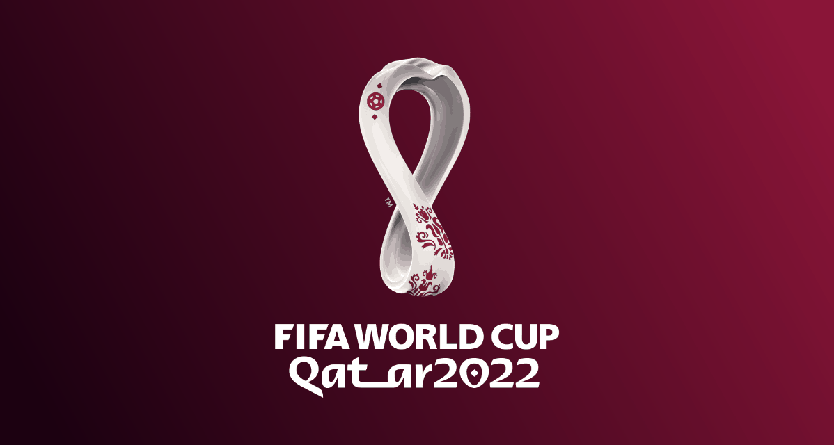 OFFICIAL LOGO: Of the 2022 World Cup in Qatar