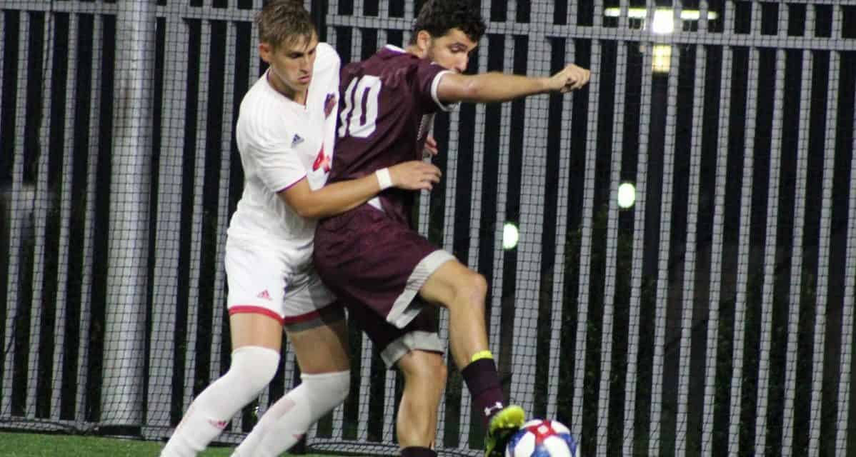 COMEBACK KIDS: Fordham men rally for 2-2 draw at NJIT