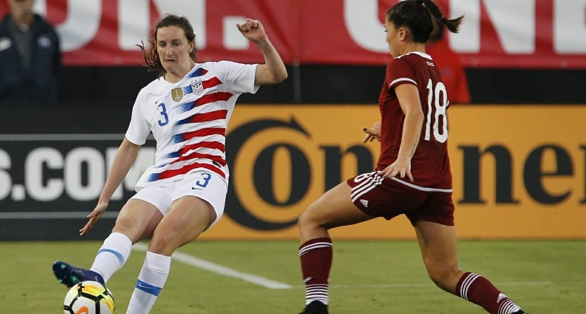 LAST-MINUTE ADDITION: Spirit's Sullivan joins USWNT for Korea friendlies