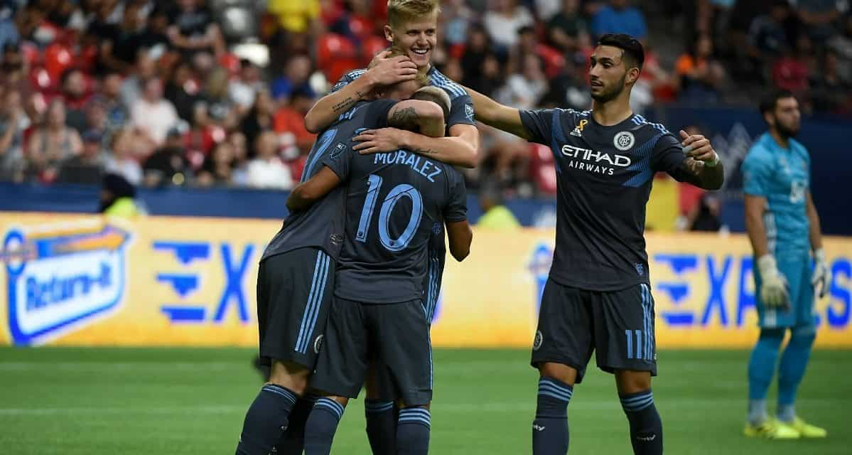 THE FIRST STEP: NYCFC downs Vancouver, clinches MLS playoff berth