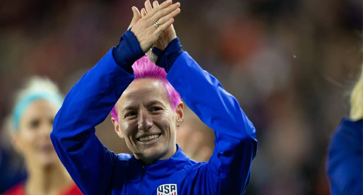 THEY'RE THE BEST: FIFA honors Rapinoe (women's player), Ellis (women's coach)