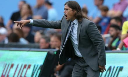 NO YANKEE DOODLE DANDY TO HIM: Quakes coach Almeyda says stadium is not suited for soccer