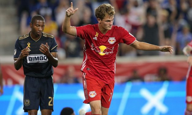 STRUTTING THEIR STUFF: Red Bulls down Philly at home, 2-0