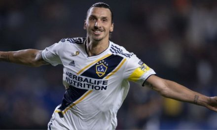 HE'S NO. 1: Zlatan best-selling MLS jersey this year