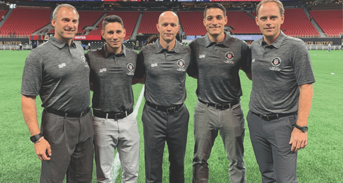 TOP HONORS: Dunn named MLS assistant referee of the year