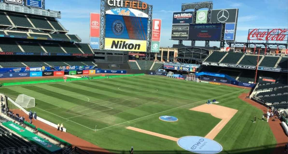 THE CITY GAME AT CITI FIELD: NYCFC to play 4 matches at Mets' ballpark