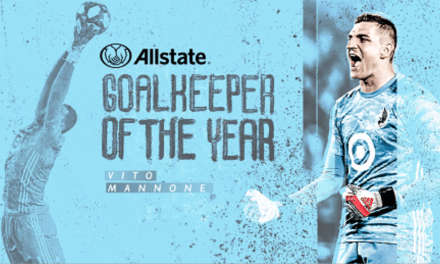 HE'S A KEEPER: Minnesota's Mannone MLS goalkeeper of the year