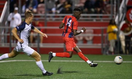 MEN'S COLLEGE PLAYER OF THE YEAR: St. John's Oluwaseyi earns the honor