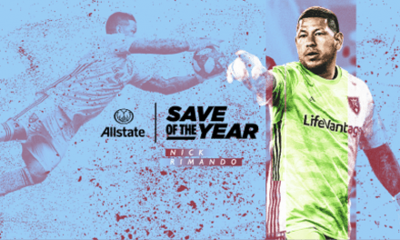 A BIG SAVING GRACE: RSL's Rimando wins MLS save of the year