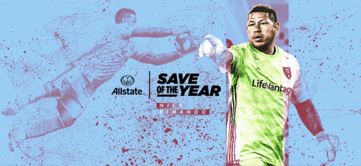A BIG SAVING GRACE: RSL's Rimando wins MLS save of the year