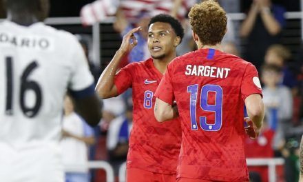MCKENNIE'S MAGIC: Watch USMNT midfielder record his early and quick hat-trick