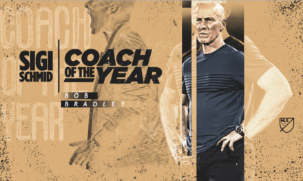 THIRD TIME'S A CHARM: Bradley named MLS coach of the year