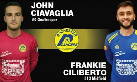 TWO MORE: Lancers sign Ciliberto, Ciavaglia