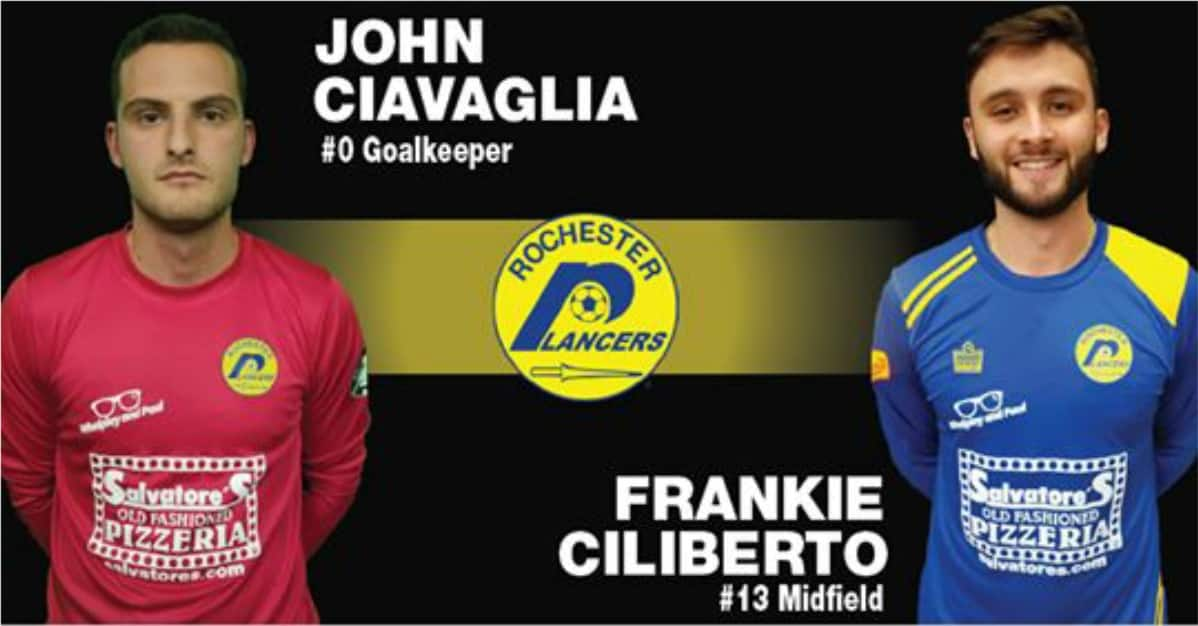 TWO MORE: Lancers sign Ciliberto, Ciavaglia
