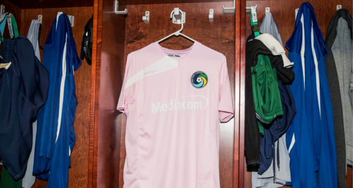 READY TO DO THEIR PART: Cosmos to raffle pink warm-ups for Breast Cancer Awareness Month