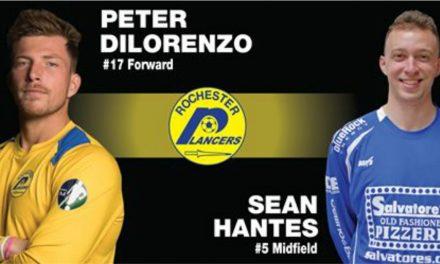 SIGNING ON: Lancers add Hantes, DiLorenzo