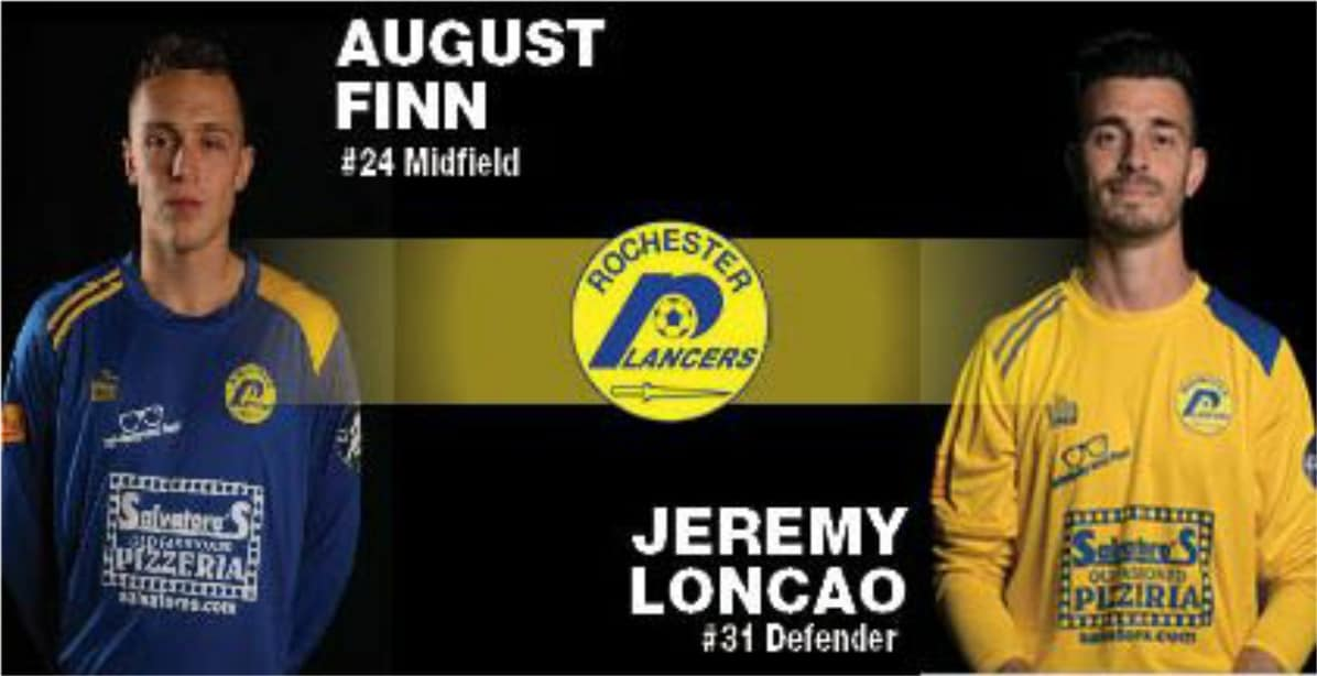 THEY'RE BACK FOR MORE: Finn, Loncao return to the Lancers