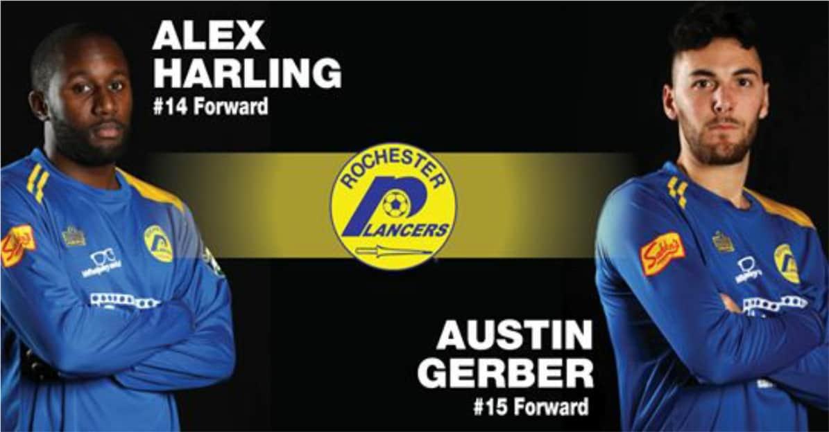 BACK FOR MORE: Harling, Gerber return to Lancers for MASL season
