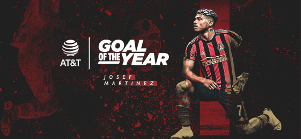 MARTINEZ MAGIC: Atlanta forward wins MLS goal of the year